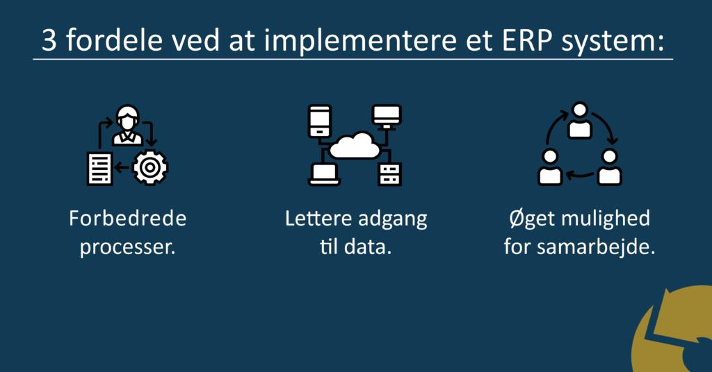 3 ERP fordele